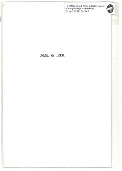 Karte MR. & MR.