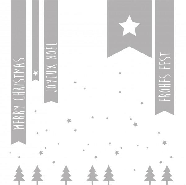 Winterzeit Servietten merry Christmas