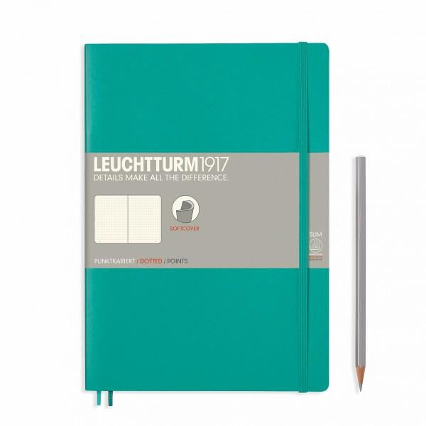 Notizbuch Composition B5 Smaragd