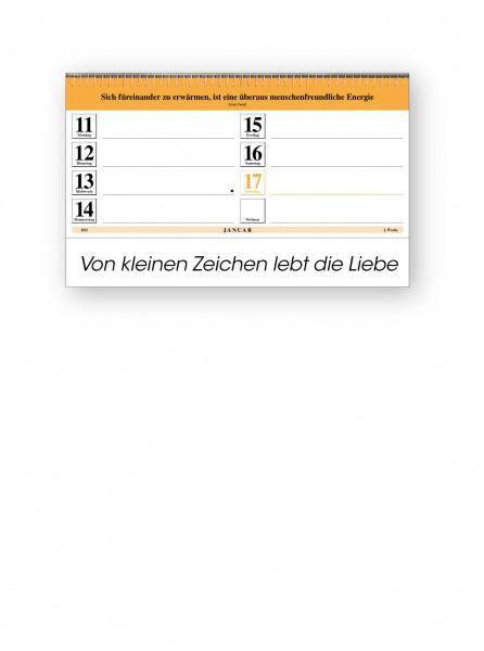 Original-Leitspruch-Schreibtisch-Kalender 2021