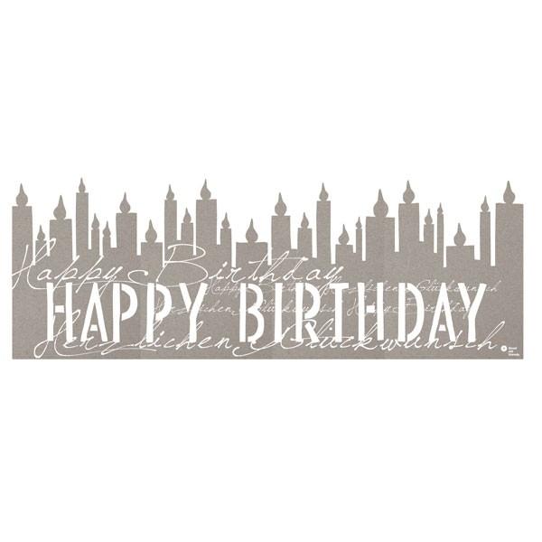 Silhouette Happy Birthday