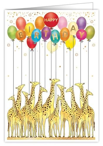XL Karte Happy Birthday
