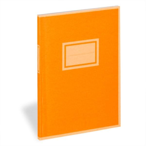 Antiques Buch orange