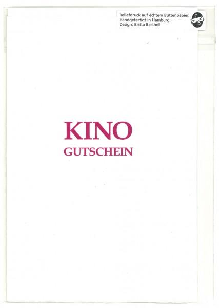Karte KINO Gutschein