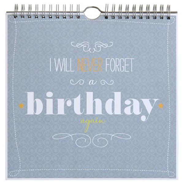 Geburtstagskalender Artebene