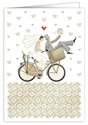 XL Karte Hochzeit