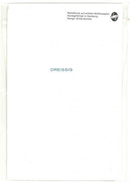 Karte DREISSIG 30