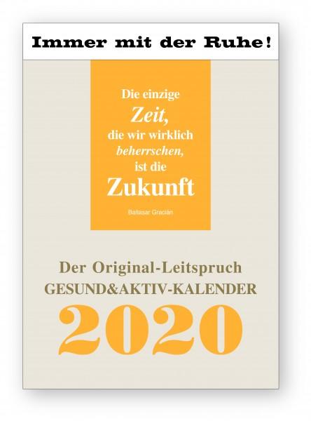 Original-Leitspruch-Gesund&Aktiv-Kalender 2020