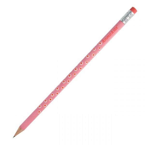 Bleistift Tupfer rosa