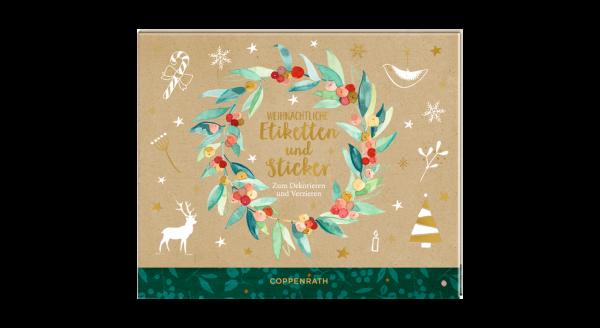 Stickerbuch Weihnachten