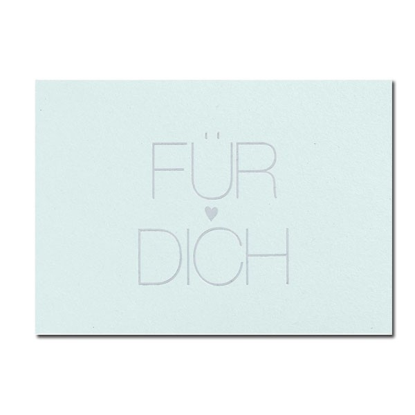 Postkarte Für Dich