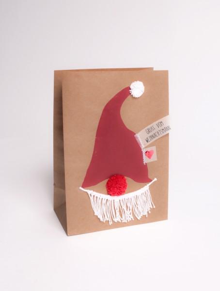 Winter Tüte Weihnachtsmann