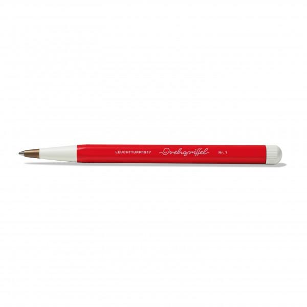 Drehgriffel Kugelschreiber rot