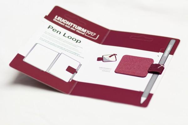 Pen Loop port red