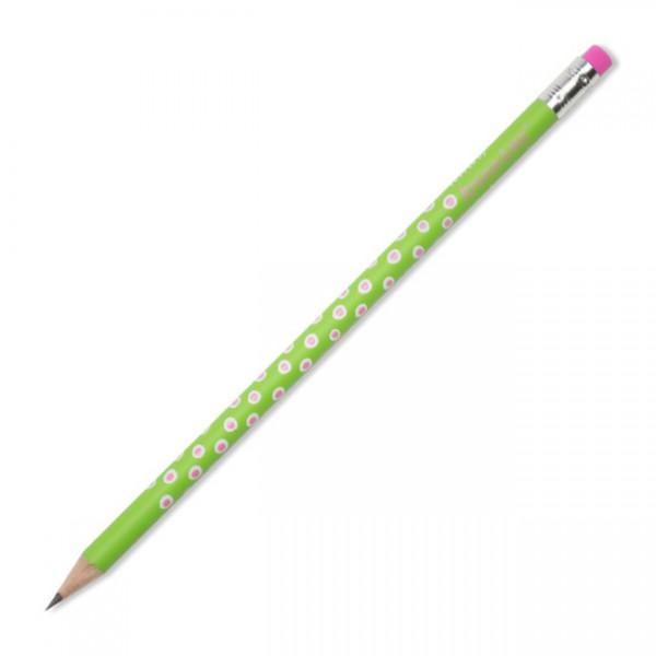 Bleistift Tupfer grün