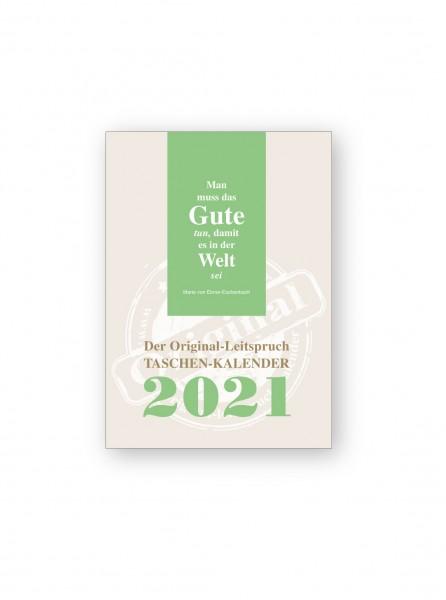 Original-Leitspruch-Taschen-Kalender 2021 (A5)