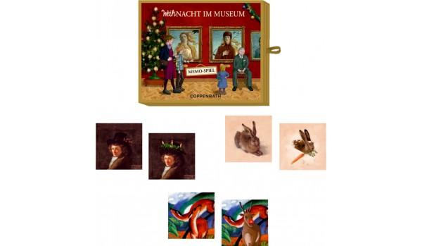 Memospiel Weihnacht im Museum