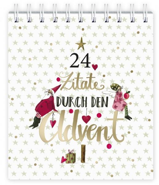 Adventkalender 24 Zitate
