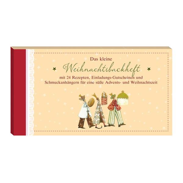 Gutscheinbuch-Weihnachtsbackheft