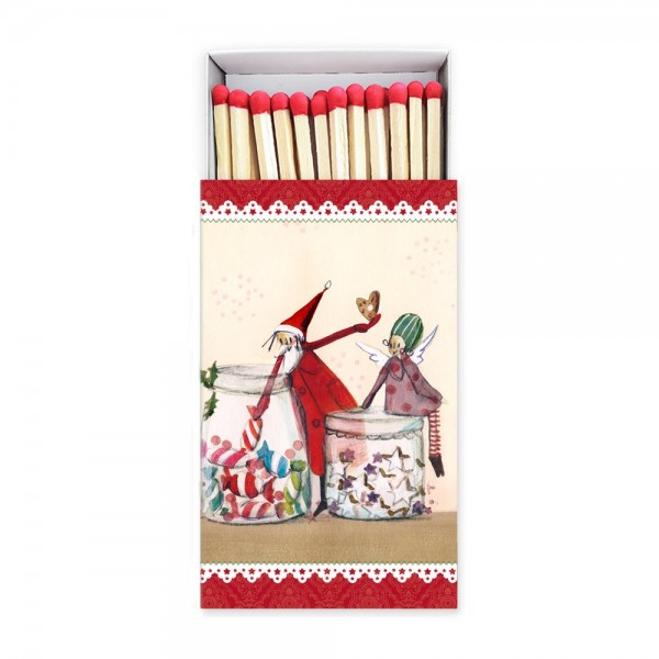 Streichhölzer Weihnachtsleckerei