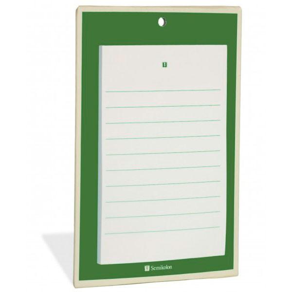Notizblock dunkelgrün (08)