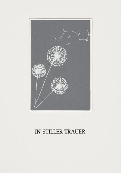 Passepartout Trauerkarte