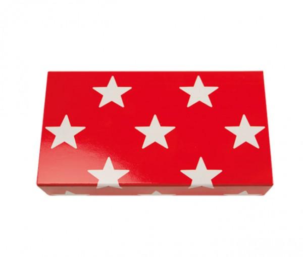 Streichhölzer Sterne Rot