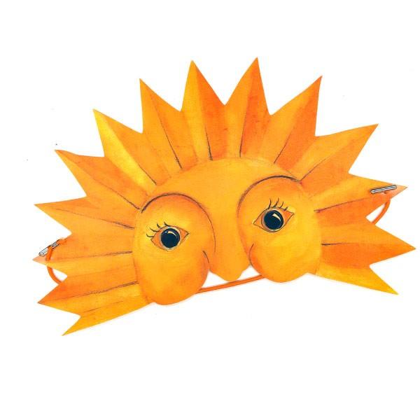 Maske Sonne