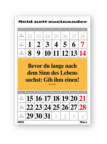 Original-Leitspruch-Monats-Kalender 2021