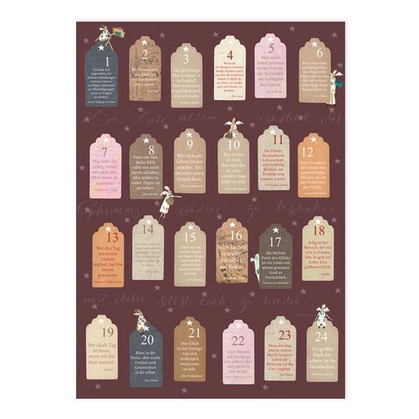 Poster Adventkalender