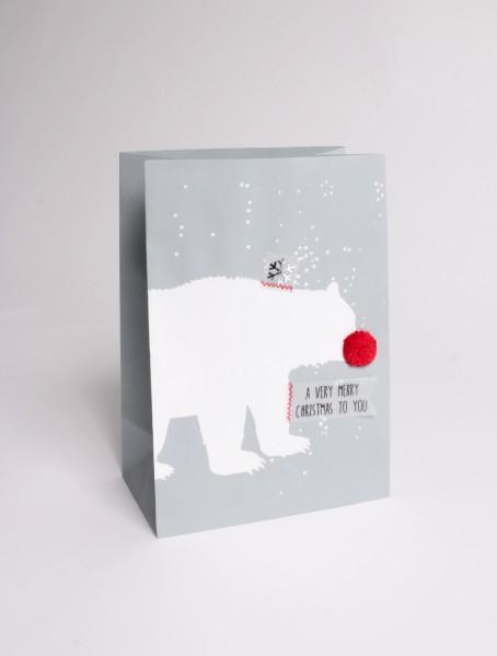 Winter Tüte Eisbär