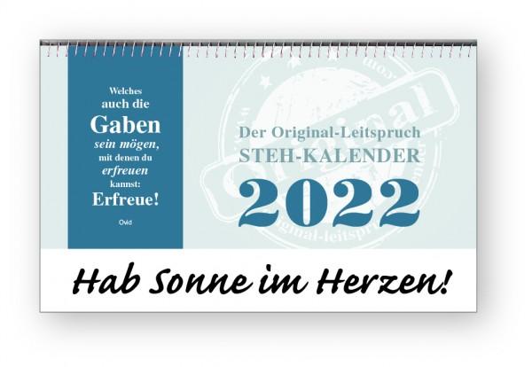 Original-Leitspruch-Steh-Kalender 2022