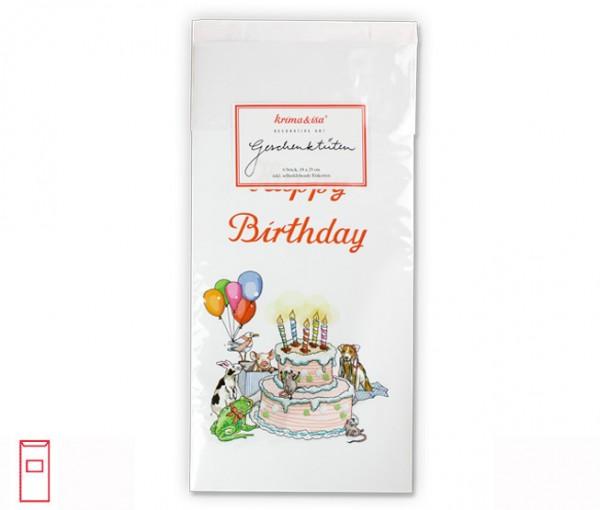 Tüten Geburtstag