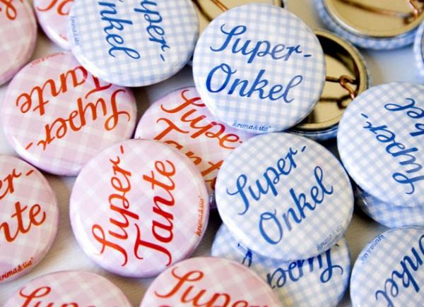 Button Super Onkel