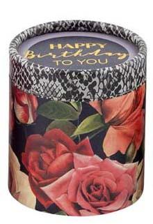 Musikbox Happy Birthday Rosen