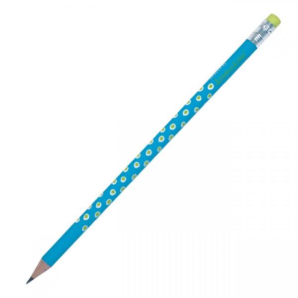 Bleistift Tupfer türkis