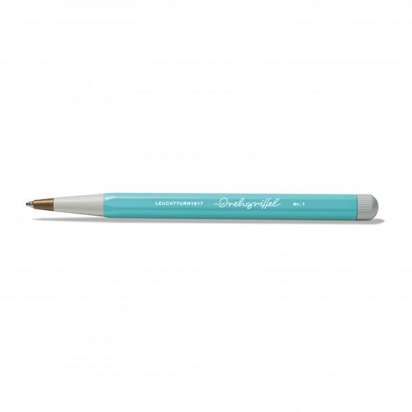 Drehgriffel Kugelschreiber aquamarine