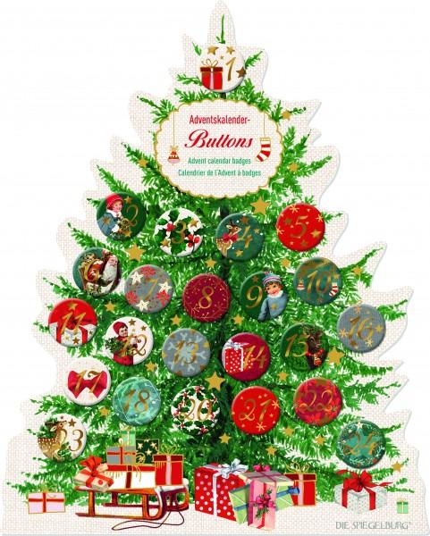 Adventkalender Buttons