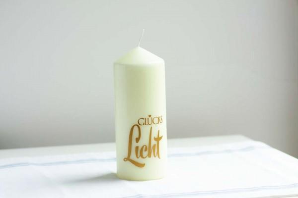 Kerze Glücks Licht