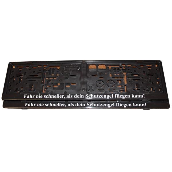 Schutzengel-Kennzeichenhalter-Set