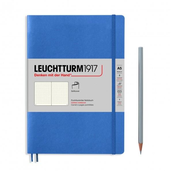 Notizbuch Medium A5 Softcover Denim