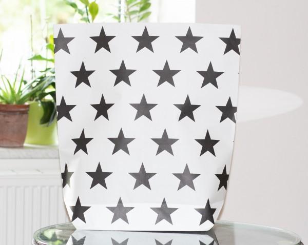Papiertasche Black Stars