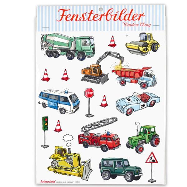 Fensterbilder Fahrzeuge