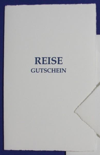 Karte Reise Gutschein