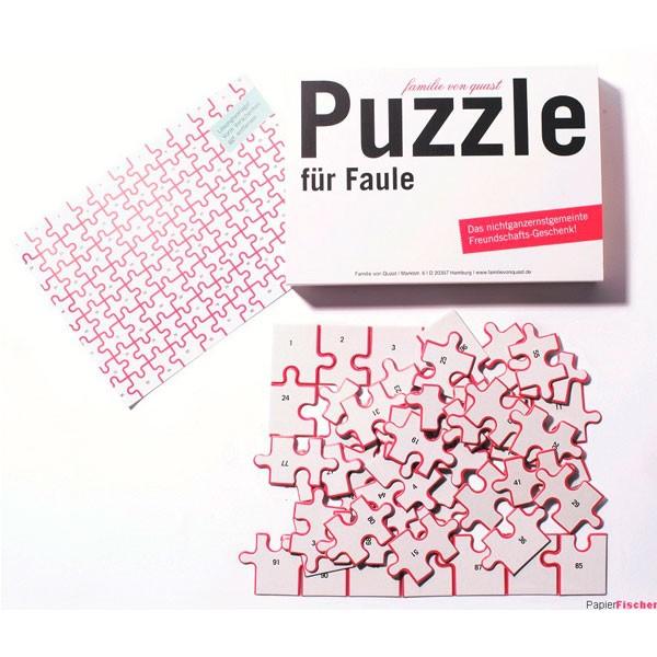 Puzzle für Faule