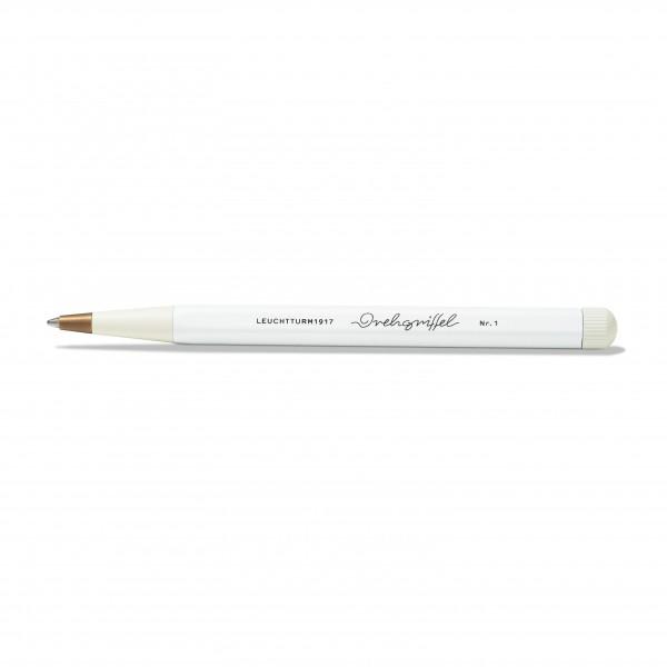 Drehgriffel Kugelschreiber weiß