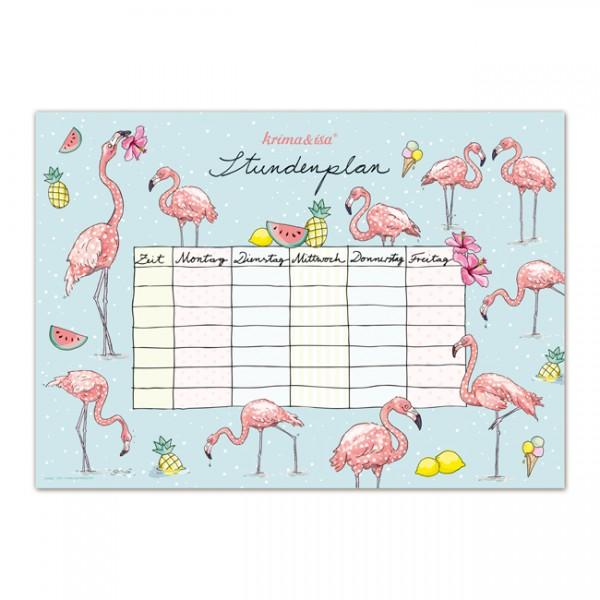 Stundenplan Flamingo