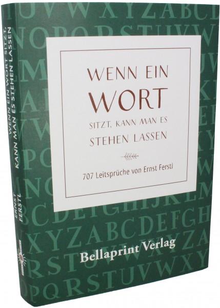 Bellaprint SpruchBuch grün