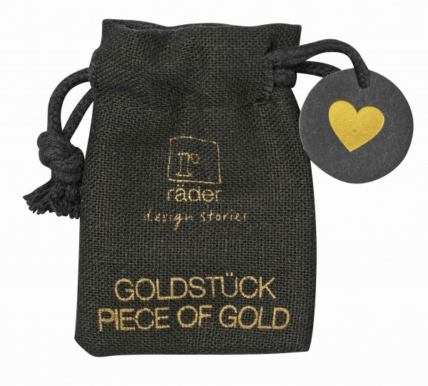 Goldstück Herz