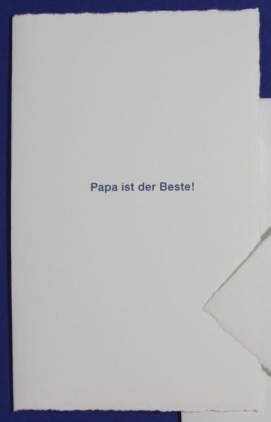 Karte Papa ist der Beste
